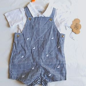 Baby Essentials 2 piece set overalls